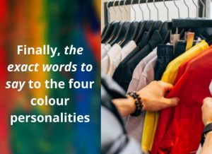 The four colour personalities