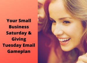Your Small Business Saturday & Giving Tuesday Email Gameplan2